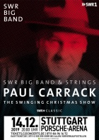 SWR BIG BAND & PAUL CARRACK, 14.12.2019, Stuttgart